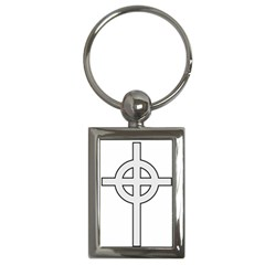 Celtic Cross  Key Chains (rectangle)  by abbeyz71