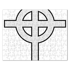 Celtic Cross  Rectangular Jigsaw Puzzl by abbeyz71