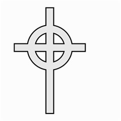 Celtic Cross  Small Garden Flag (two Sides) by abbeyz71