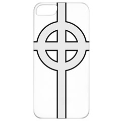 Celtic Cross  Apple Iphone 5 Classic Hardshell Case by abbeyz71