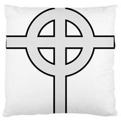 Celtic Cross  Standard Flano Cushion Case (two Sides) by abbeyz71