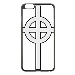 Celtic Cross  Apple Iphone 6 Plus/6s Plus Black Enamel Case by abbeyz71