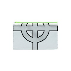 Celtic Cross  Cosmetic Bag (xs) by abbeyz71