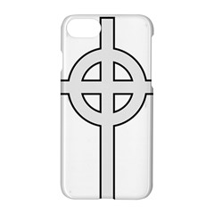 Celtic Cross  Apple Iphone 7 Hardshell Case by abbeyz71