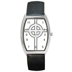 Celtic Cross  Barrel Style Metal Watch by abbeyz71