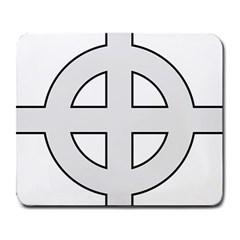 Celtic Cross  Large Mousepads by abbeyz71