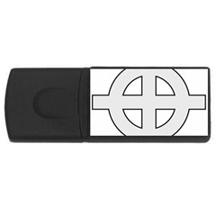 Celtic Cross  Usb Flash Drive Rectangular (4 Gb) by abbeyz71