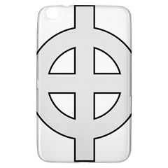 Celtic Cross  Samsung Galaxy Tab 3 (8 ) T3100 Hardshell Case  by abbeyz71