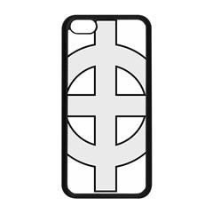 Celtic Cross  Apple Iphone 5c Seamless Case (black) by abbeyz71