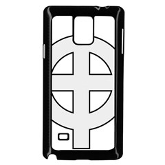 Celtic Cross  Samsung Galaxy Note 4 Case (black) by abbeyz71