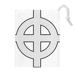 Celtic Cross  Drawstring Pouches (extra Large) by abbeyz71
