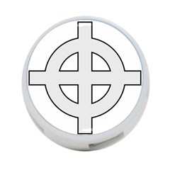Celtic Cross  4 Port Usb Hub (one Side) by abbeyz71
