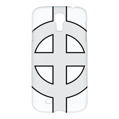 Celtic Cross  Samsung Galaxy S4 I9500/i9505 Hardshell Case by abbeyz71