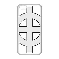 Celtic Cross  Apple Iphone 5c Seamless Case (white) by abbeyz71