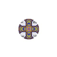 Coptic Cross 1  Mini Buttons by abbeyz71