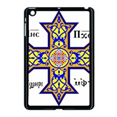 Coptic Cross Apple Ipad Mini Case (black) by abbeyz71