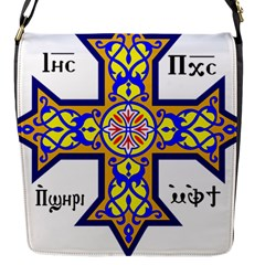 Coptic Cross Flap Messenger Bag (s) by abbeyz71