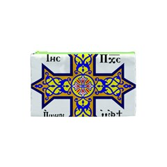 Coptic Cross Cosmetic Bag (xs) by abbeyz71