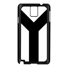 Forked Cross Samsung Galaxy Note 3 N9005 Case (black) by abbeyz71