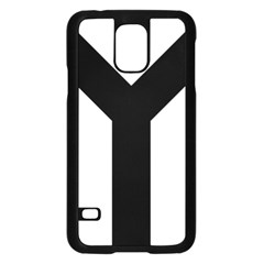 Forked Cross Samsung Galaxy S5 Case (black) by abbeyz71