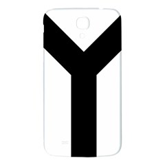 Forked Cross Samsung Galaxy Mega I9200 Hardshell Back Case by abbeyz71