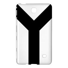 Forked Cross Samsung Galaxy Tab 4 (7 ) Hardshell Case  by abbeyz71
