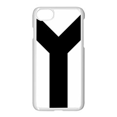 Forked Cross Apple Iphone 7 Seamless Case (white) by abbeyz71
