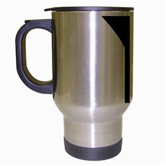 Forked Cross Travel Mug (silver Gray) by abbeyz71
