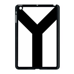 Forked Cross Apple Ipad Mini Case (black) by abbeyz71