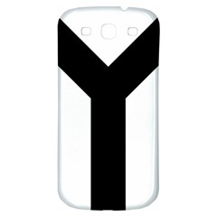 Forked Cross Samsung Galaxy S3 S Iii Classic Hardshell Back Case by abbeyz71