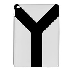 Forked Cross Ipad Air 2 Hardshell Cases by abbeyz71