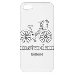 Amsterdam Apple Iphone 5 Hardshell Case by Valentinaart