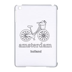 Amsterdam Apple Ipad Mini Hardshell Case (compatible With Smart Cover) by Valentinaart