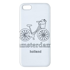 Amsterdam Apple Iphone 5 Premium Hardshell Case by Valentinaart