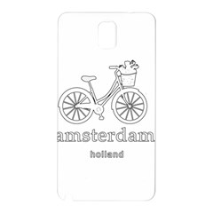 Amsterdam Samsung Galaxy Note 3 N9005 Hardshell Back Case by Valentinaart