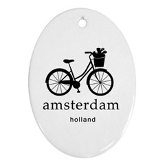 Amsterdam Ornament (oval) by Valentinaart