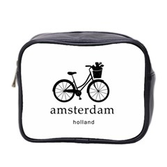 Amsterdam Mini Toiletries Bag 2 Side by Valentinaart