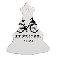 Amsterdam Christmas Tree Ornament (two Sides) by Valentinaart
