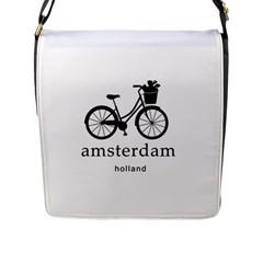Amsterdam Flap Messenger Bag (l)  by Valentinaart