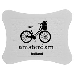 Amsterdam Jigsaw Puzzle Photo Stand (bow) by Valentinaart
