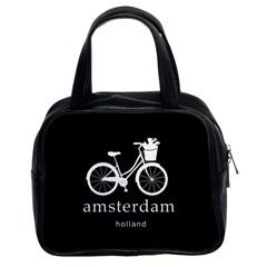 Amsterdam Classic Handbags (2 Sides) by Valentinaart