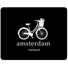 Amsterdam Fleece Blanket (medium)  by Valentinaart