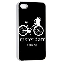 Amsterdam Apple Iphone 4/4s Seamless Case (white) by Valentinaart