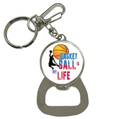 Basketball Is My Life Button Necklaces by Valentinaart
