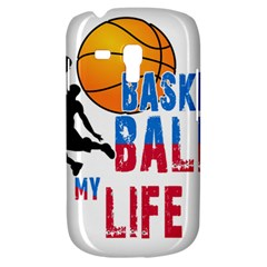 Basketball Is My Life Galaxy S3 Mini by Valentinaart