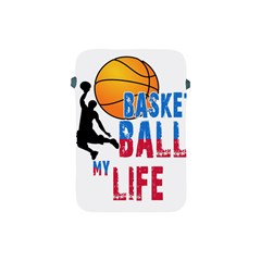 Basketball Is My Life Apple Ipad Mini Protective Soft Cases by Valentinaart