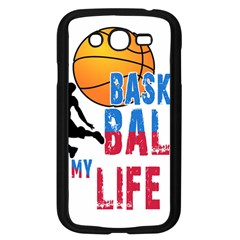 Basketball Is My Life Samsung Galaxy Grand Duos I9082 Case (black) by Valentinaart