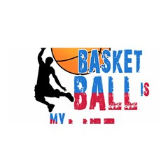 Basketball Is My Life Satin Wrap by Valentinaart
