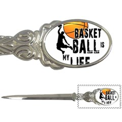 Basketball Is My Life Letter Openers by Valentinaart