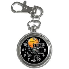 Basketball Is My Life Key Chain Watches by Valentinaart